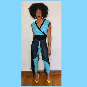 Pants - Custom made maxi jump suit
